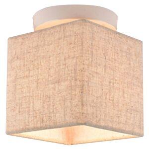 Přisazené stropní světlo BRUNO, bílé Clx BRUNO