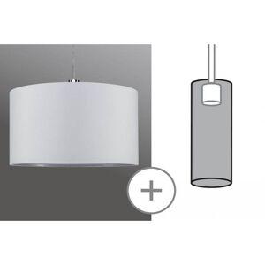 Závěsné moderní svítidlo TESSA, 1xE27, 50W, bílé Paulmann P 95366