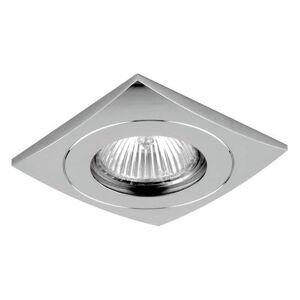 Podhledové hranaté osvětlení DOWNLIGHT, chromované Emithor ELEGANT METAL FIX 71019