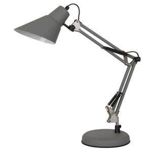 Stolní lampa na pracovní stůl JASON, šedá Italux Jason MT-HN2041 GR+S.NICK