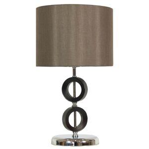 Stolní designová lampa ALBERTO, bronzová Clx ALBERTO
