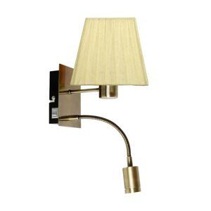 Nástěnné moderní osvětlení LAZZARO, žluté Clx LAZZARO