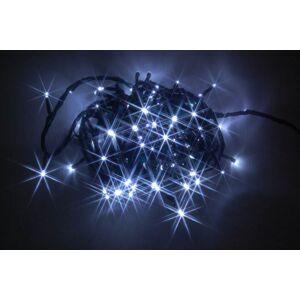 LED vánoční venkovní řetěz PROMO, 180 LED, 8W, 16,5m, studená bílá Nipeko 9430606