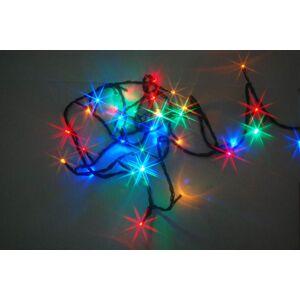 LED vánoční venkovní řetěz s časovačem PROMO, 80 LED, 18m Nipeko 9430644
