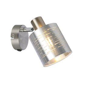 Moderní nástěnné svítidlo MURCIA, stříbrné Globo MURCIA 15343-1