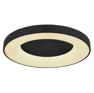 Stropní moderní LED osvětlení na dál. ovládání JOLLI, 42W, 60cm, kulaté, černé Globo JOLLI 41758-42B