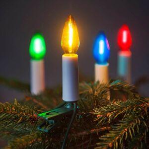 LED vánoční řetěz FELICIA, 16 žárovek, barevné světlo, 10,5m Exihand FELICIA 162014.FIL