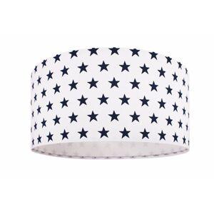 Závěsné dětské osvětlení KIDS STARS, 1xE27, 60W, 40cm, bílomodré, hvězdy Bps KIDS STARS 040-074-40cm
