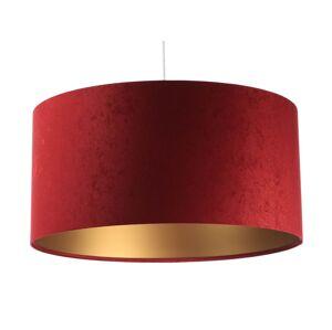 Závěsné moderní světlo MODERN, 1xE27, 60W, 40cm, červené, zlaté Bps MODERN 010-024-40cm