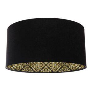 Závěsné moderní svítidlo GLAMOUR, 1xE27, 60W, 50cm, černé, zlaté Bps GLAMOUR 50 030-282-50cm
