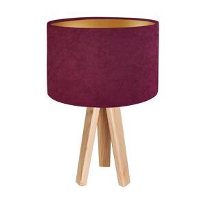 Skandinávská stolní lampa MODERN, 1xE27, 60W, hnědá, fialovozlatá Bps MODERN 010s-039