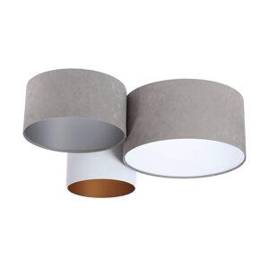 Moderní stropní světlo TRIO 1, 3xE27, 60W, šedé, bílé, různobarevné Bps TRIO 1 080-06-062