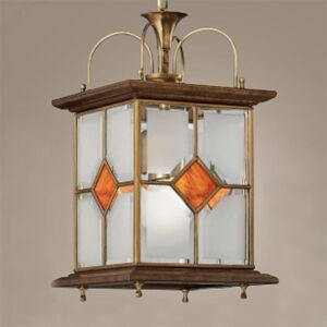 Cremasco Dřevěné závěsné světlo Ole