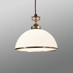 Cremasco Závěsné světlo La Botte, bílá