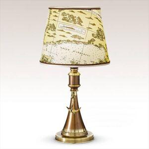 Cremasco Stolní lampa Laguna, námořní design 48 cm