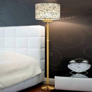 Cremasco Laguna stojací lampa s potištěným stínidlem