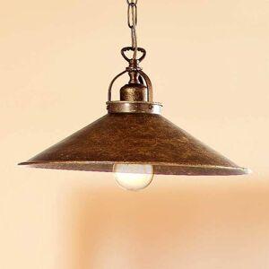 Ceramiche Rustikální závěsné světlo BRUNO 35 cm