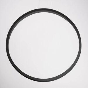 Cini&Nils Cini&NIls Assolo - černé závěsné světlo LED 70 cm
