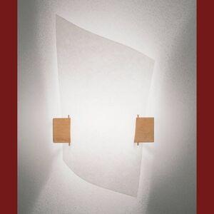 Domus Designové nástěnné světlo PLAN B se světlým dřevem