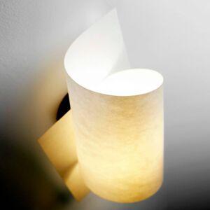 Domus Nástěnné světlo Loop, kaštanový olej