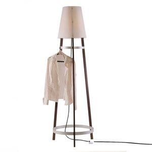Domus Stojací lampa Wai Ting kabel antracit maron