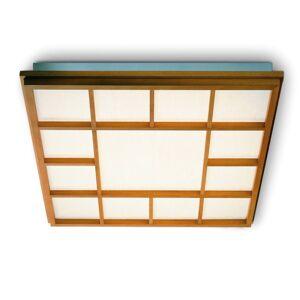 Domus Čtvercové stropní LED svítidlo Kioto 13, buk