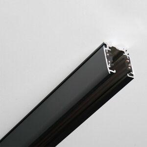 GLOBAL 3fázová přípojnice Noa hliník 200cm, černá
