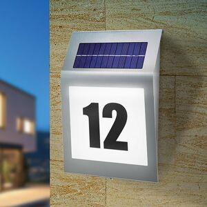 Esotec Style - solární design. osvětlení domovního čísla