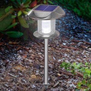 Esotec Solární LED lampa Sunny, teplé bílé a denní světlo