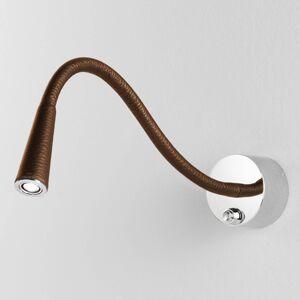 Egger Licht Vega T Flex LED nástěnné světlo, camel/chrom