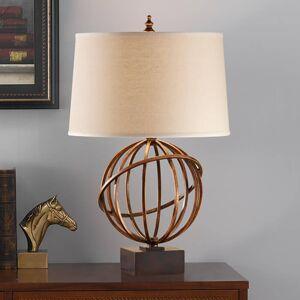 FEISS Textilní stolní lampa Spencer, top design