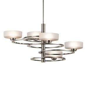 KICHLER LED závěsné světlo Aleeka 5 zdrojů, výška 43,8 cm