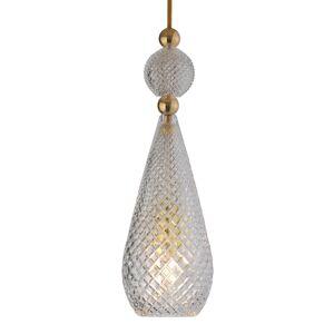 EBB & FLOW EBB & FLOW Smykke závěsné světlo zlatá křišťál