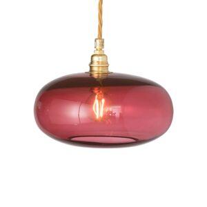 EBB & FLOW EBB & FLOW Horizon závěsné světlo červené Ø 21cm