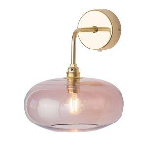EBB & FLOW EBB & FLOW Horizon nástěnné zlatá/růžová Ø 21 cm