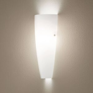 Fabas Luce Bílé nástěnné světlo Dedalo IP44
