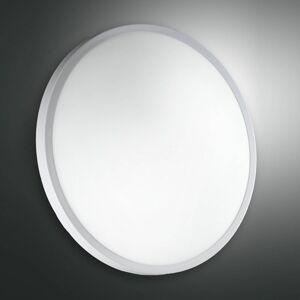 Fabas Luce Stropní a nástěnné světlo PLAZA ze skla 41 cm