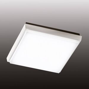 Fabas Luce Čtvercové LED venkovní stropní světlo Desdy