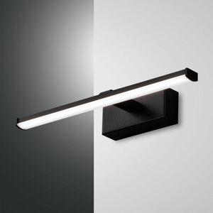 Fabas Luce LED nástěnné svítidlo Nala, černé, šířka 30 cm