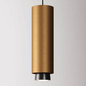 Fabbian Fabbian Claque závěsné světlo LED 30 cm bronz