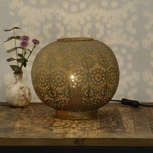 Freelight Stolní lampa Stampa, kulatá, výška 28 cm