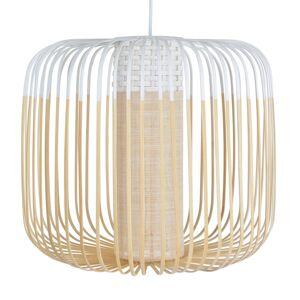 Forestier Forestier Bamboo Light M závěsné světlo 45 cm bílá