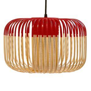 Forestier Forestier Bamboo Light S závěsné světlo 35cm rudá