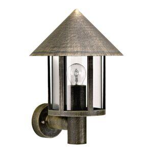 Albert Leuchten Venkovní nástěnné světlo Torcia hnědá-mosaz