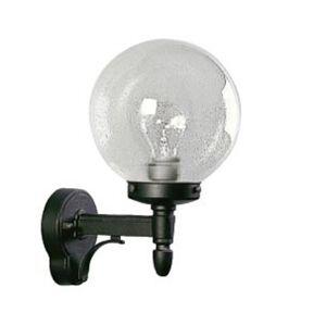 Albert Leuchten Venkovní nástěnné světlo s foukaným sklem, černá