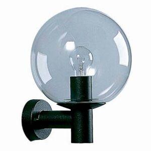Albert Leuchten Venkovní nástěnné svítidlo černé, křišťálové sklo