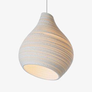 Graypants Závěsné světlo Hive bílá Ø 38 cm