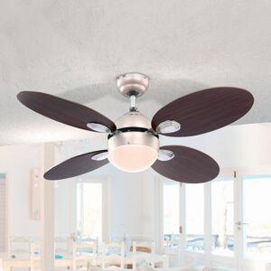 Globo Wade stropní ventilátor s tahovým vypínačem