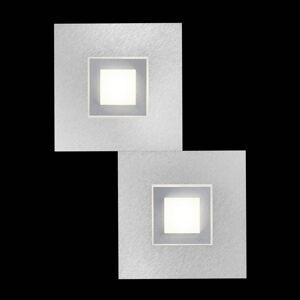 GROSSMANN GROSSMANN Karree LED nástěnné světlo, 2zdr titan