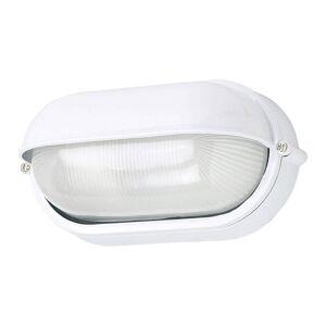 G & L HANDELS GMBH Venkovní nástěnné světlo 400180 ovál v bílé barvě